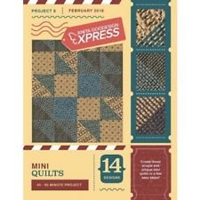 ANITA GOODESIGN - EXPRESS PROJECT #8 - MINI QUILTS