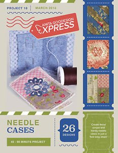 ANITA GOODESIGN - EXPRESS PROJECT #10 - NEEDLE CASES