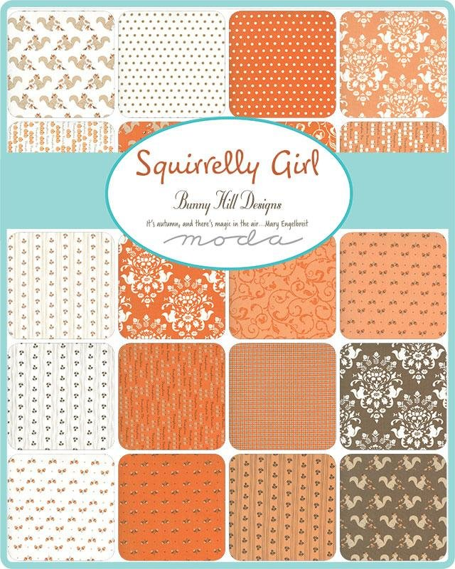 Squirrelly Girl Layer Cake® Bunny Hill Designs