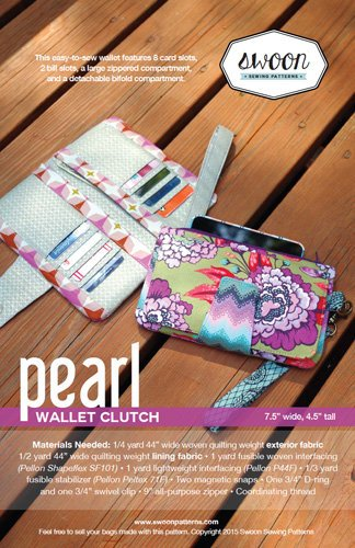 Pearl Wallet Clutch