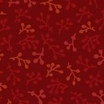 Getting to Know Hue Dk Red w/sprigs