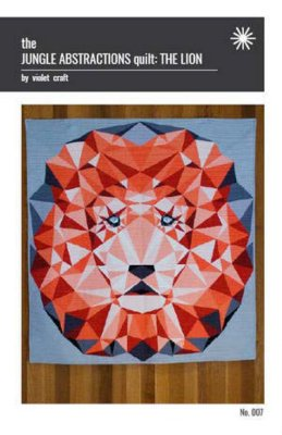 JUNGLE ABSTRACTIONS QUILT: THE LION