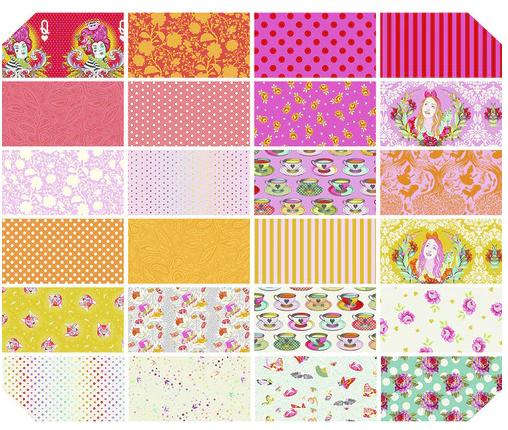 Curiouser & Curiouser Wonder FQ Bundle Tula Pink