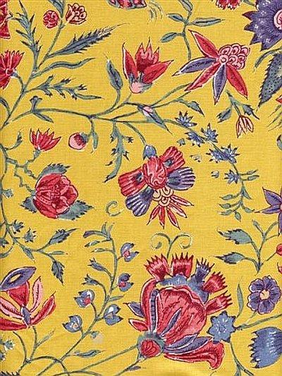 Les Fleurs D'Inde Yellow