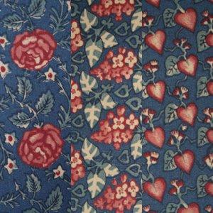 Dutch Garden Trio Pink/Night Blue