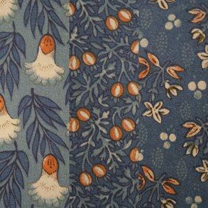 Dutch Garden Trio Orange/Blue