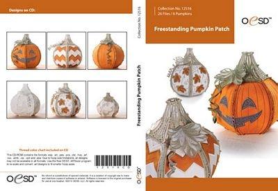 Freestanding Lace Pumpkin Patch