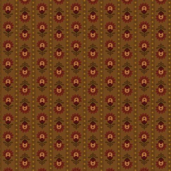 Wit & Wisdom Folk Art Stripe Chestnut