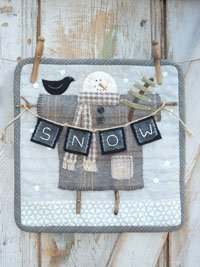 Clothesline Snowman