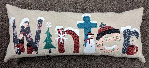 Winter Bench Pillow