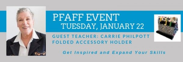 PFAFF Event January 22