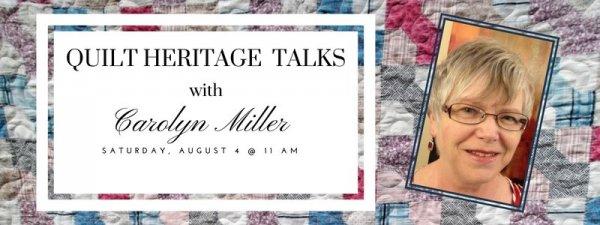 Quilt Heritage Talks