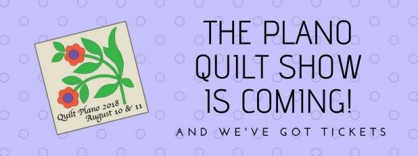 Plano Quilt Show