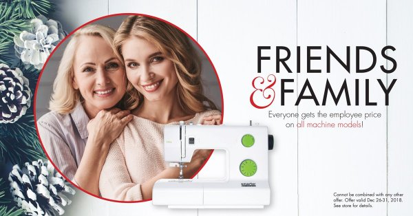 PFAFF Family & Friends Sale