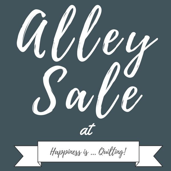 Alley Sale