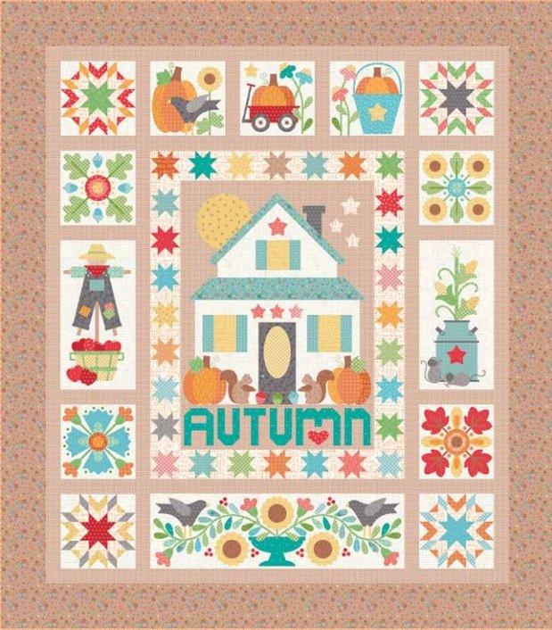 Autumn Love Kit (includes templates)