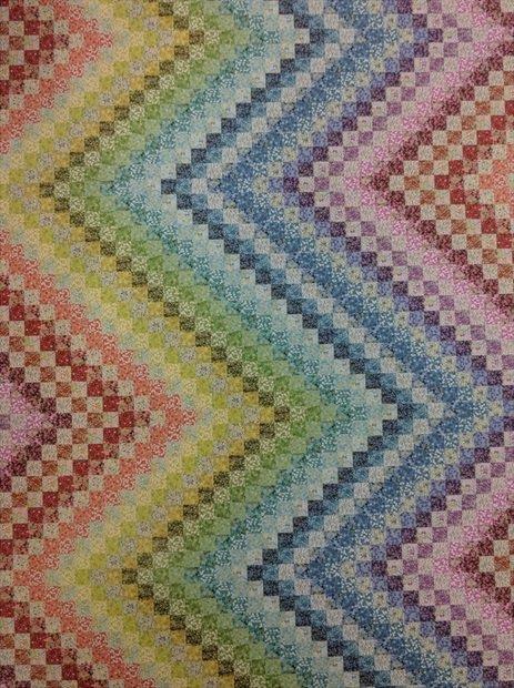 Bargello Garden Quilt Kit