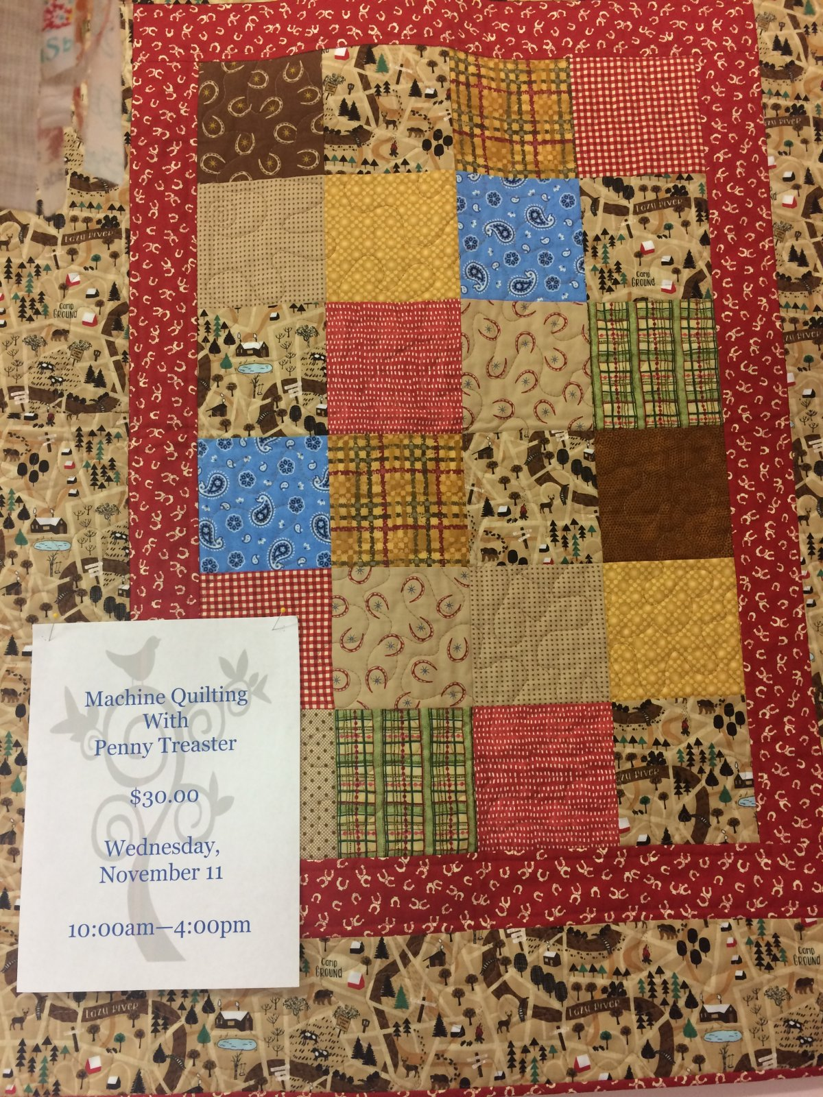 Beginning Machine Quilting
