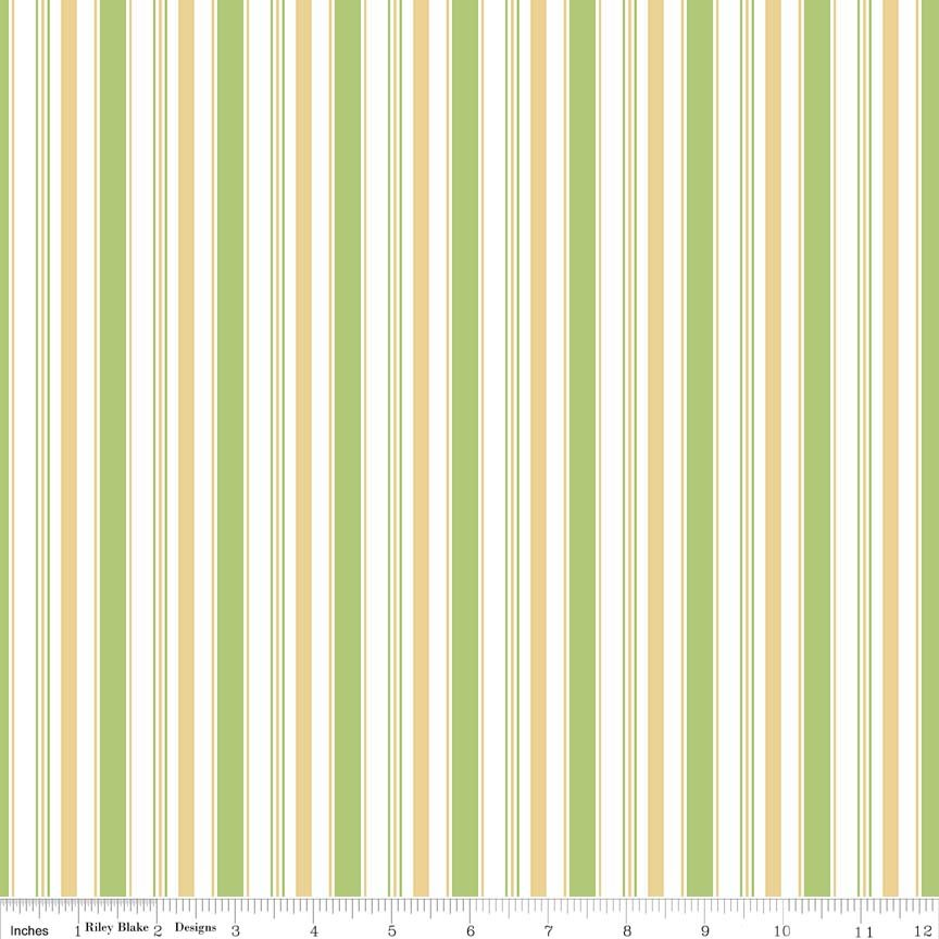 Cozy Stripe Green