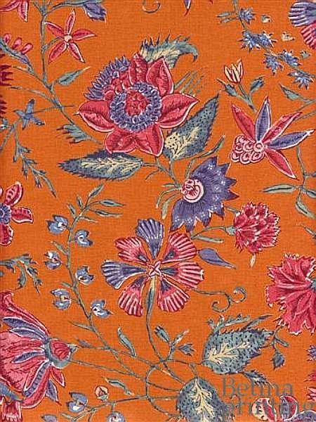 Les Fleurs D'Inde Orange