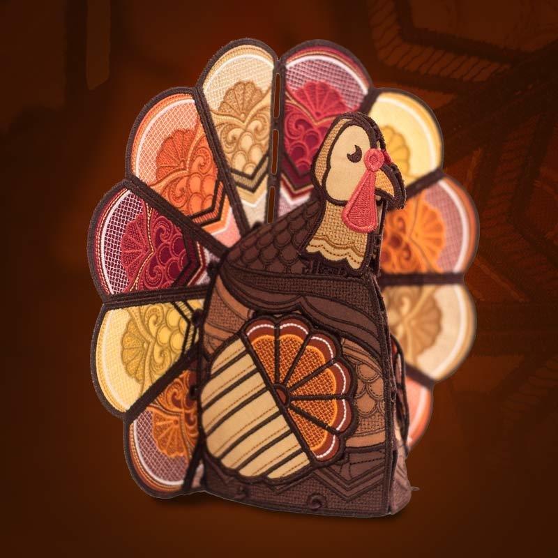 Freestanding Lace Turkey