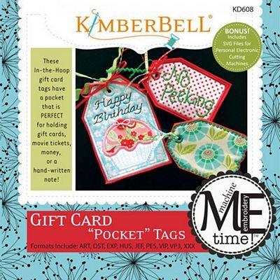 Gift Card Pocket Tags ME CD
