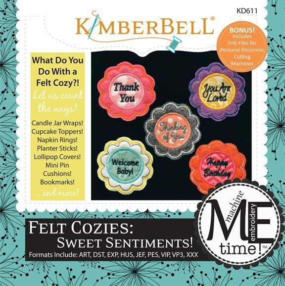KB Felt Cozies Sweet Sentiments CD