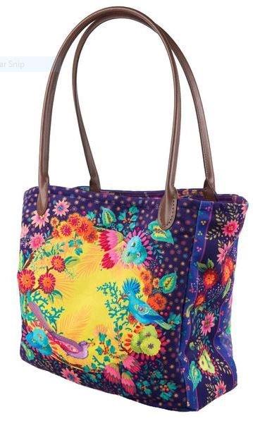 Enchanted Velvet Purple Bag Sewing Project