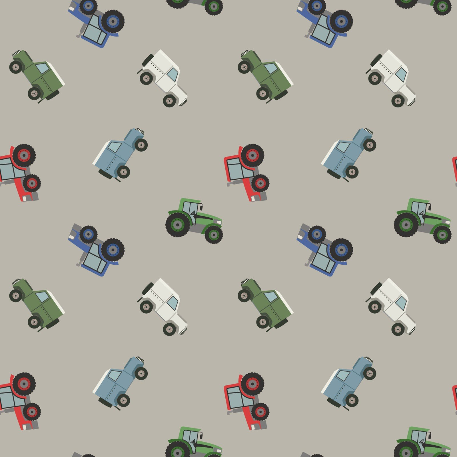 Small Things on the Move Farm Vehicles Grey