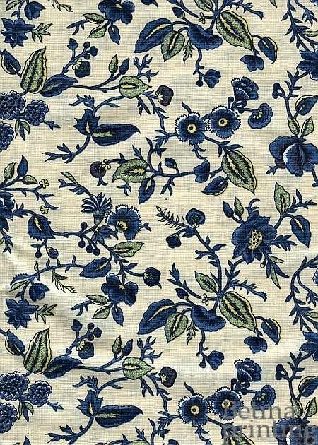Oberkampf Petite Delft Blue