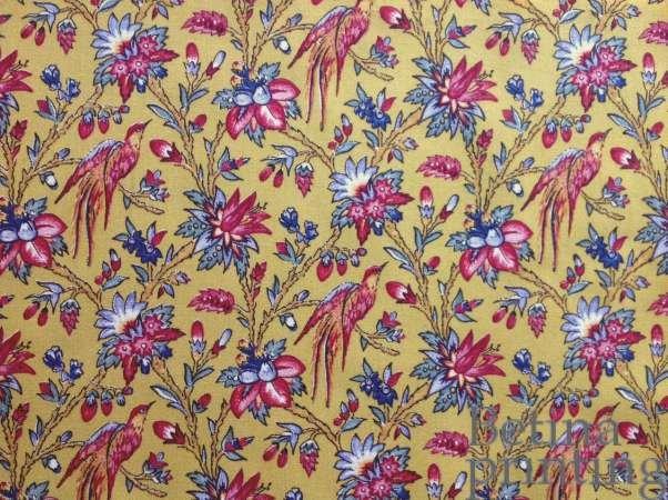 Les Oiseaux du Paradis Antique Yellow