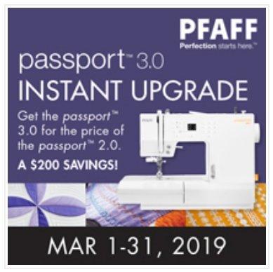 Pfaff Passport 3.0 Instant Upgrade