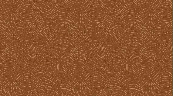 Chroma Basics Scallop Dot Rust