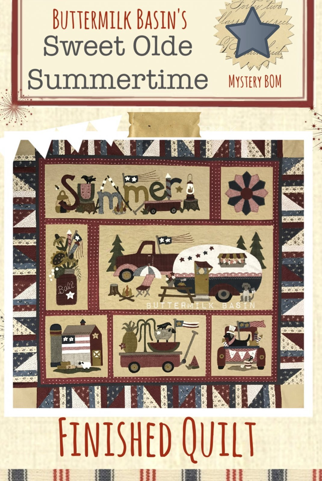 Sweet Olde Summertime BOM Month 1
