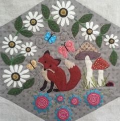 Woodland whimsy pattern set for Under the garden moon