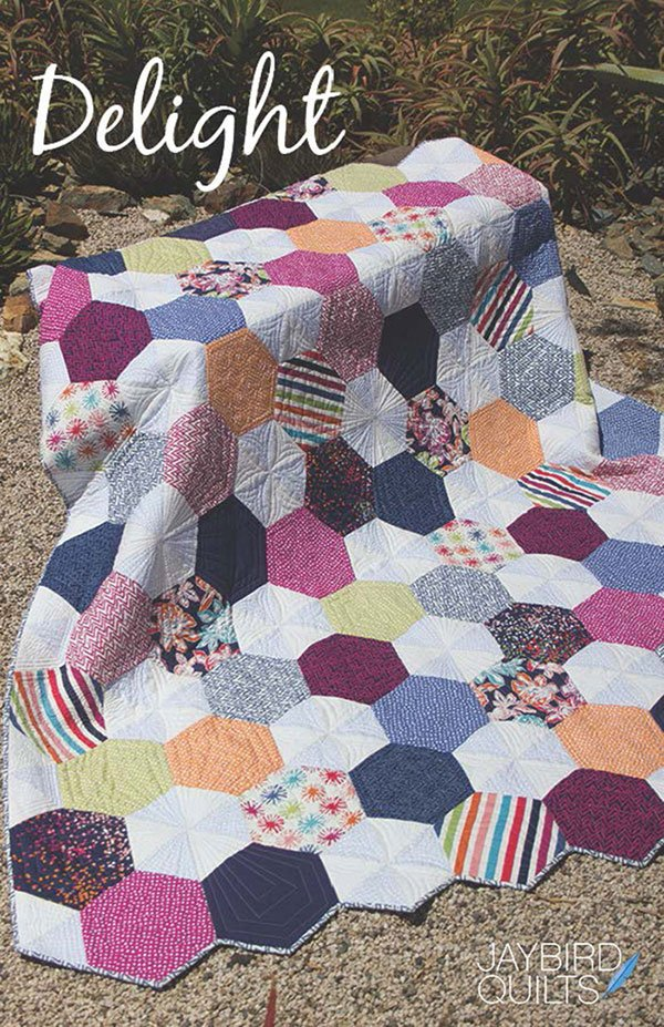 Delight Quilt - Quilt Pattern - by Jaybird Quilts