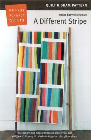 A Different Stripe Quilt Pattern - baby to king size