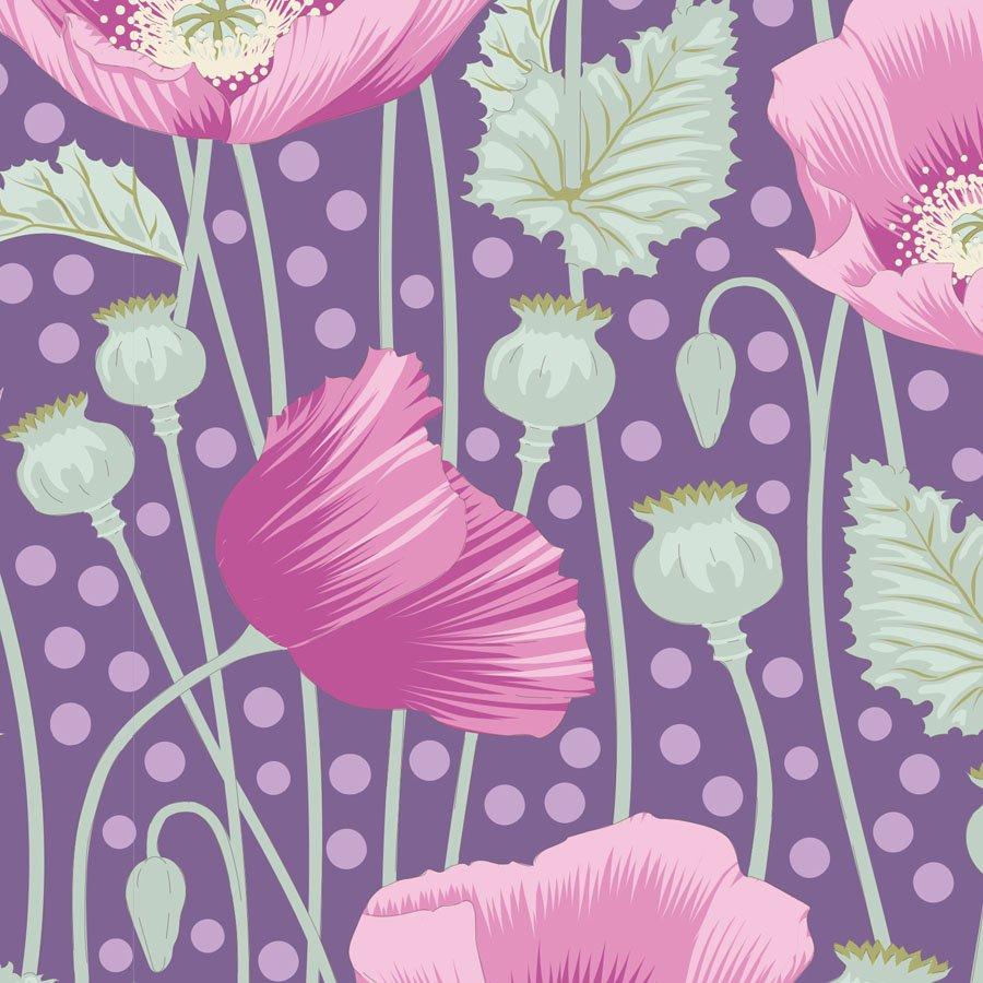 Gardenlife by Tilda - Poppies - Lilac