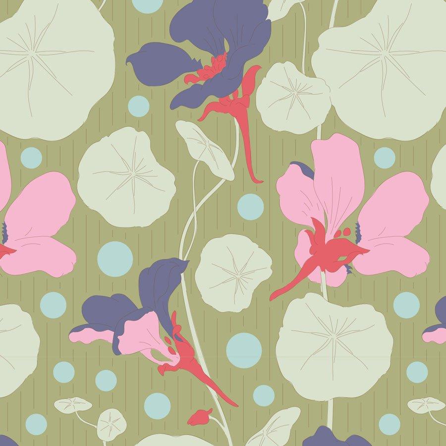Gardenlife by Tilda - Nasturtium - Green