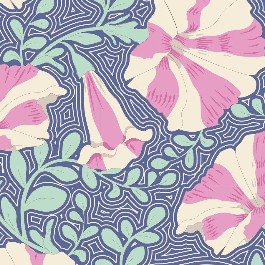 Gardenlife by Tilda - Striped Petunia - Blue