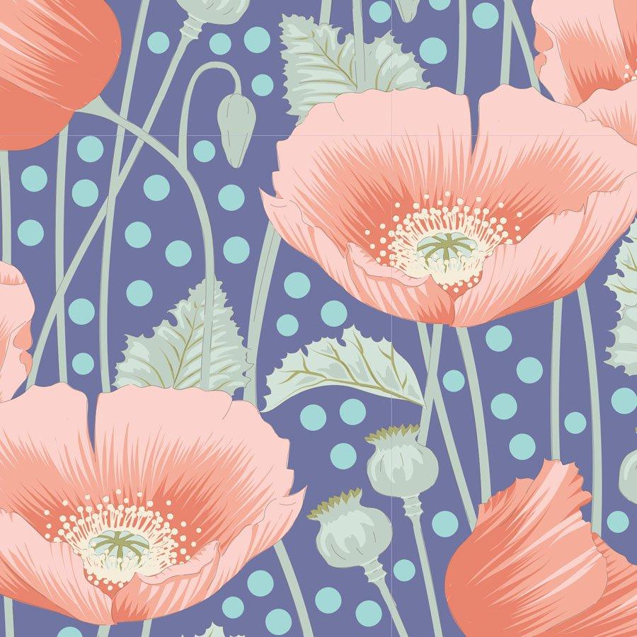 Gardenlife by Tilda - Poppies - Blue