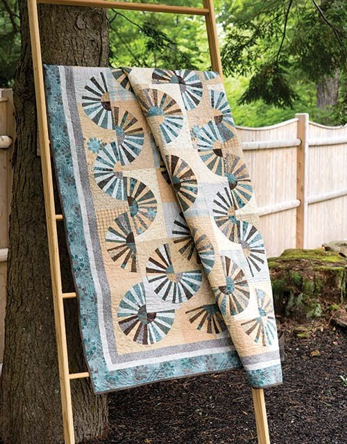 Shadows and Sunshine Quilt Kit - 59 x 71