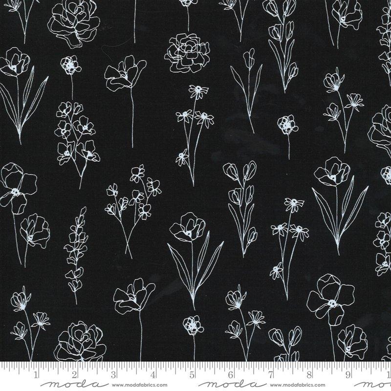 Illustrations - Floral Doodle - Ink