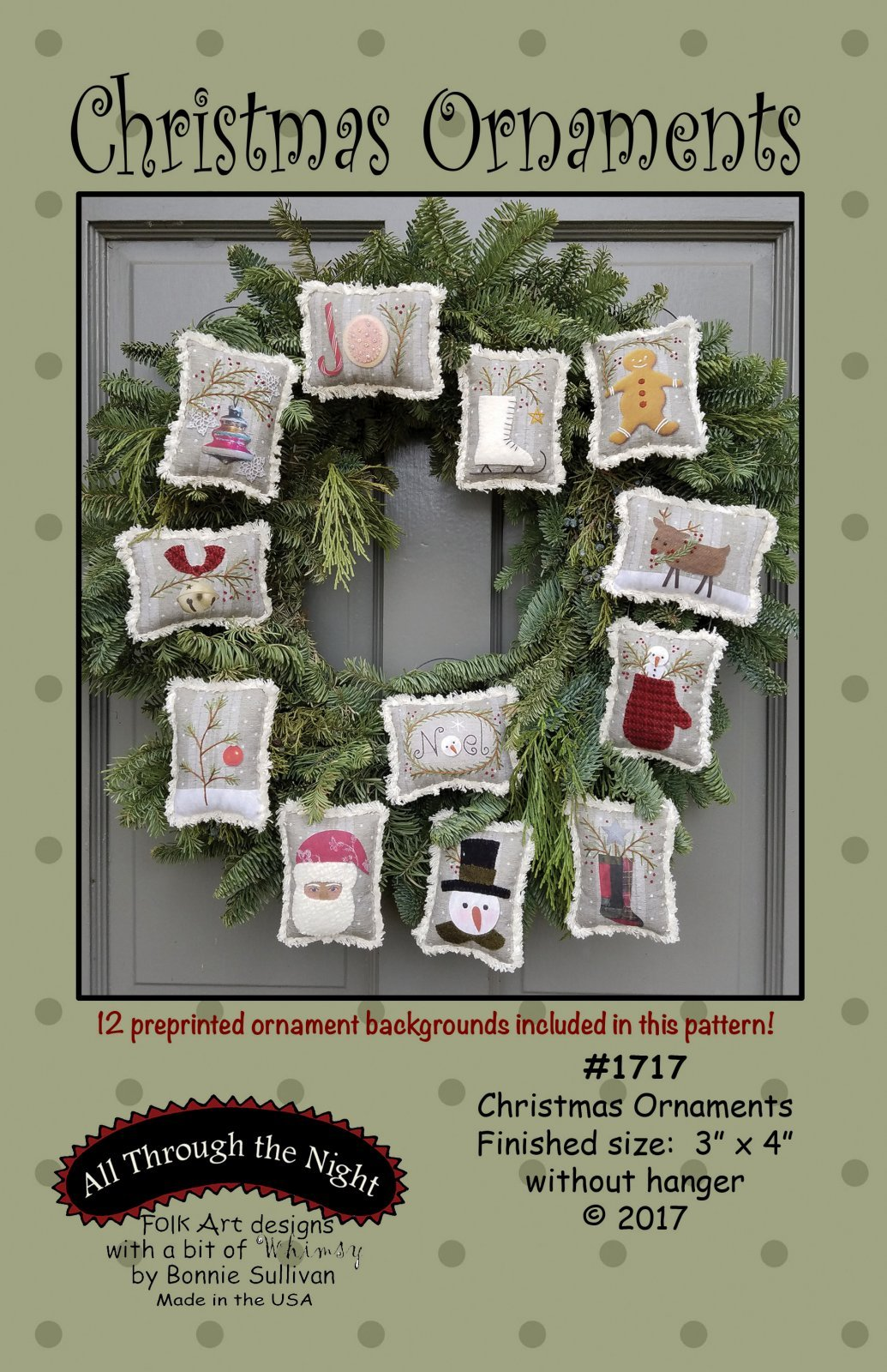 Christmas Ornaments All Through the Night by Bonnie Sullivan