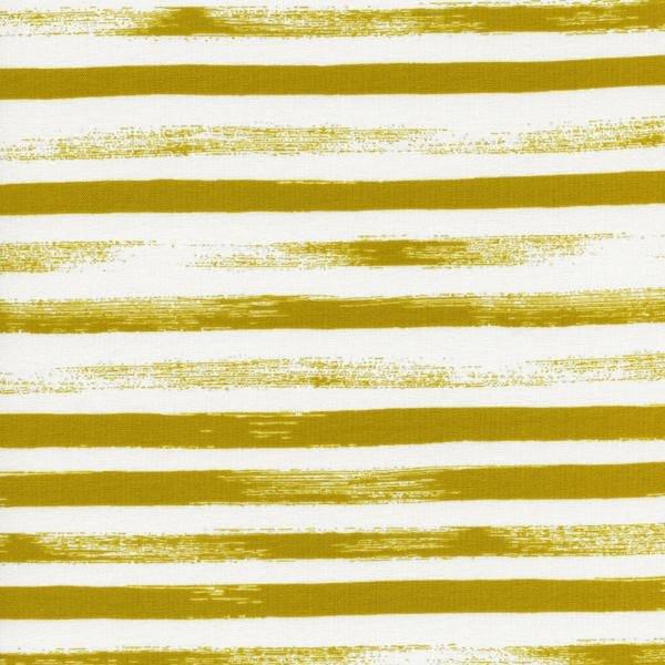 Remnant 1 1/2 yards - Zhephyr by Cotton + Steel - Gust Citron