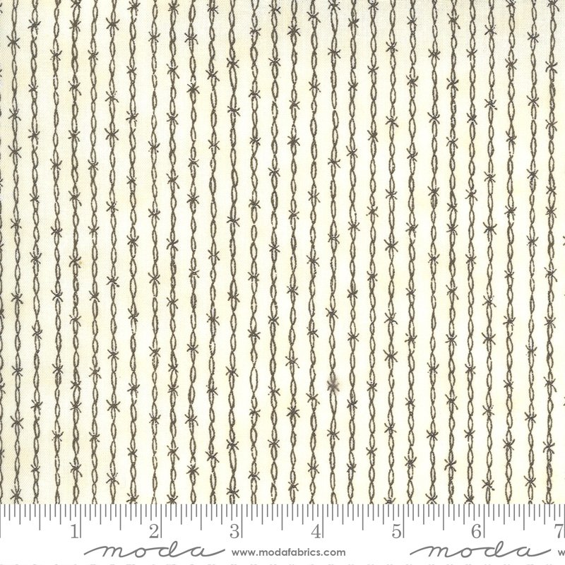 Pre-Order - Home On The Range - Barbed Wire Stripe - Dusty White