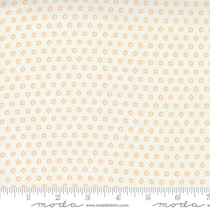 Pumpkins & Blossoms - Polka Dot Circles - Vanilla Pumpkin