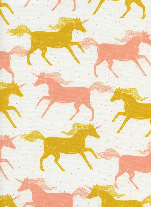 Magic Forest - Unicorns - Yellow
