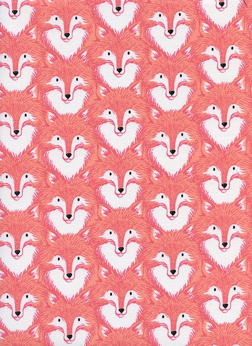 Magic Forest - Foxes - Coral