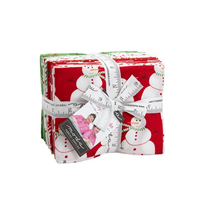 Merry and Bright Fat Quarter Bundle - 26 Pieces
